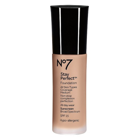 No7® Stay Perfect Foundation SPF 15 - Light Shades - 1oz - image 1 of 1