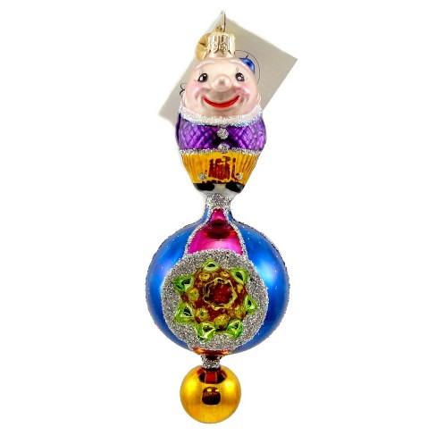 Christopher Radko Smiley Smith Ornament Clown Humpty Dumpty - image 1 of 2