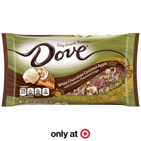 Dove Halloween White Chocolate Caramel Apple - 7.94oz - image 1 of 4