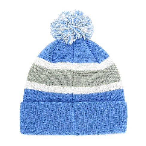 34c11dce3 NFL Detroit Lions Breakaway Knit Beanie With Pom By Fan Favorite : Target