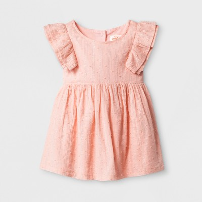 Baby Girls' A-Line Dress - Cat & Jack™ Pink Baby