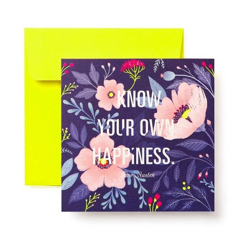 Floral Greeting Card For Her Target