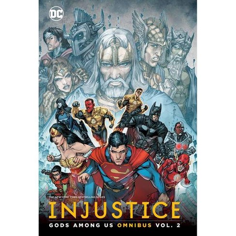 Injustice Gods Among Us Omnibus Vol 2 By Brian Buccellato Hardcover Target