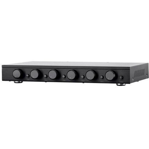 Monoprice SSVC-6.1 Single Input 6-Channel Speaker Selector With Volume Control, Impedance Protection, Individual Zone On/Off Buttons - image 1 of 4