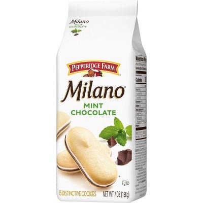 Pepperidge Farm Milano Mint Chocolate Cookies - 7oz