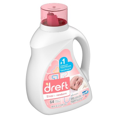 Dreft Stage 1: Newborn Baby Liquid Laundry Detergent - 100 fl oz