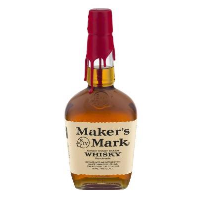 Maker's Mark Kentucky Straight Bourbon Whisky - 750ml Bottle