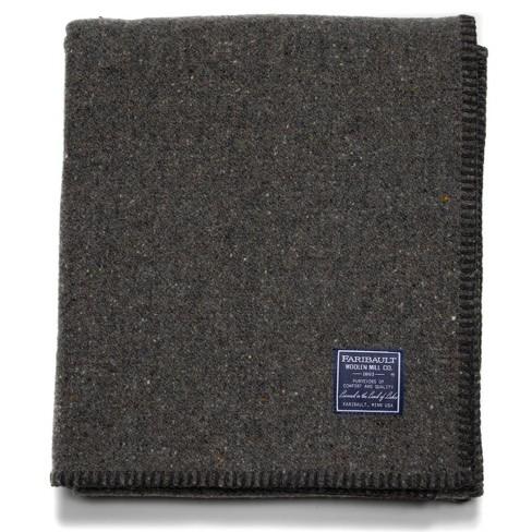 "45""x66"" Utility Throw Blanket - Faribault Woolen Mill - image 1 of 2"