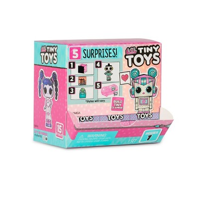 L.O.L. Surprise! Tiny Toys - Collect to Build a Tiny Glamper