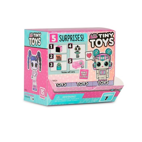 L O L Surprise Tiny Toys Collect To Build A Tiny Glamper Target