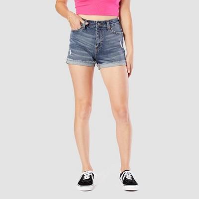 DENIZEN® from Levi's® Women's High-Rise Mom Jean Shorts (Juniors')