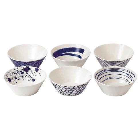 Royal Doulton 8oz 6pk Porcelain Pacific Dining Bowls White - image 1 of 2