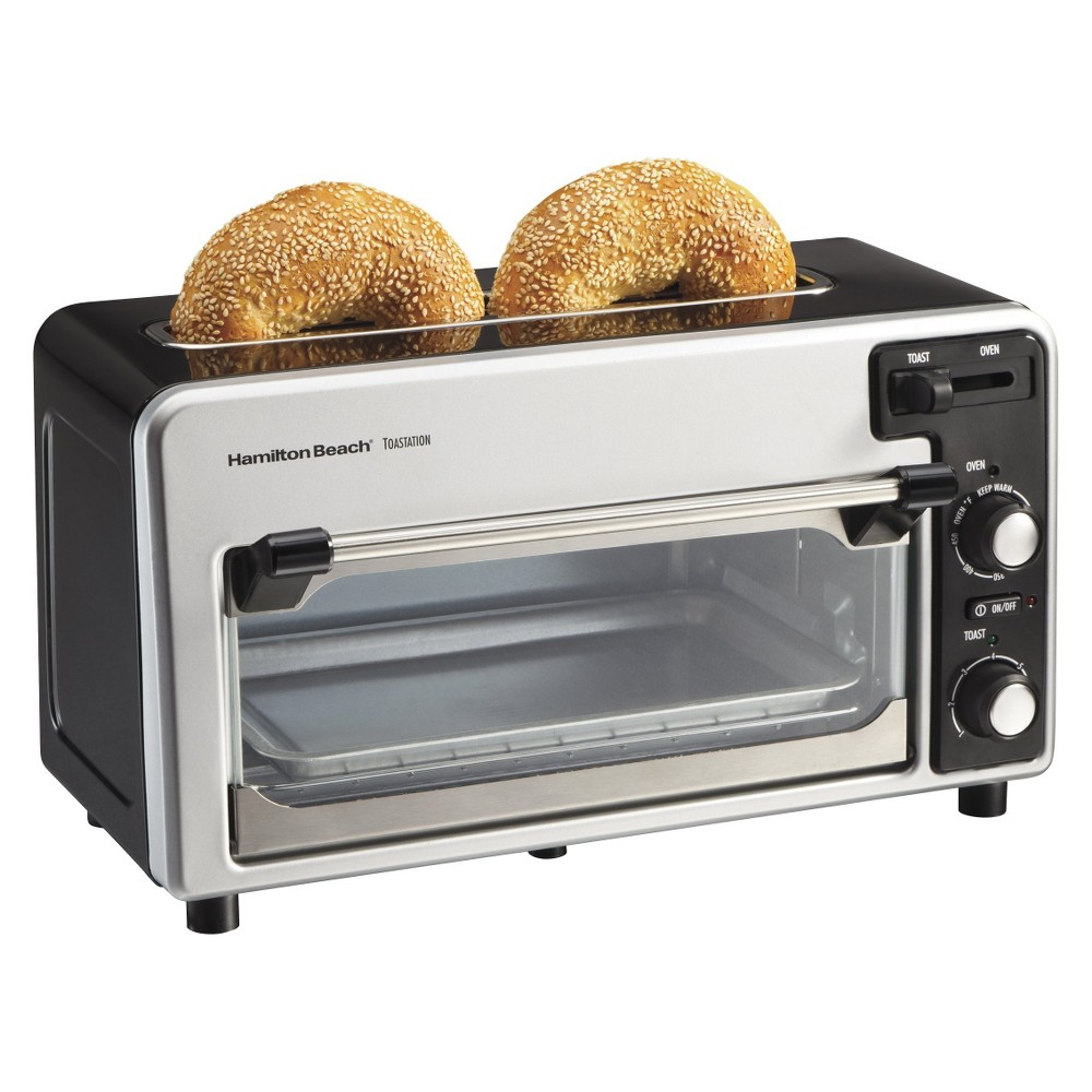 Hamilton Beach Toastation Toaster & Oven – Stainless 22720, Ss/Black 14563461