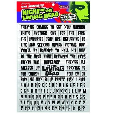 Nerd Block Night of The Living Dead Word Puzzle Magnet Set