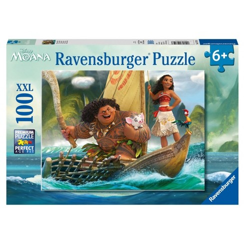 Ravensburger Disney Moana: Moana and Maui - 100pc Puzzle - image 1 of 2