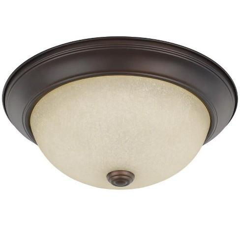 "Capital Lighting 219122 2 Light 13"" Wide Flush Mount Bowl Ceiling Fixture - image 1 of 1"