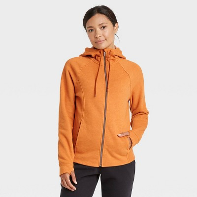 Women's Fleece Full Zip Hooded Sweatshirt - All in Motion™