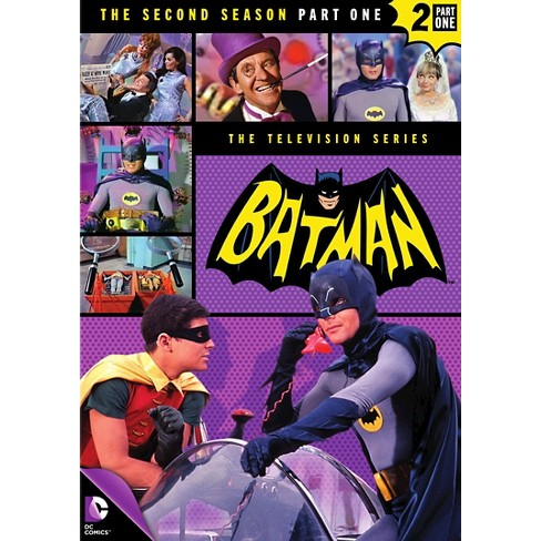 Batman: The Second Season, Part One (4 Discs) (DVD) - image 1 of 1
