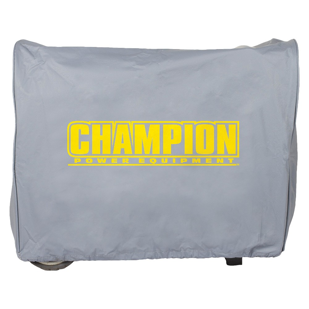 Image of Medium Inverter Generator Vinyl Cover - Gray - Champion Power