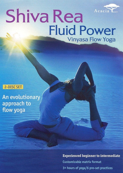 Shiva rea:Fluid power vinyasa flow yo (DVD) - image 1 of 1