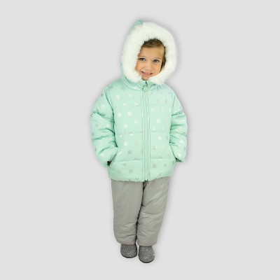 Toddler Girls' Snowflake Top and Bottom Set - Just One You® made by carter's Green