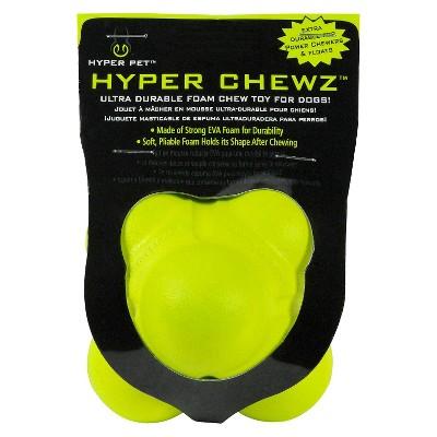 Hyper Pet Chewz Bumpy Dog Ball Chew Toy - M