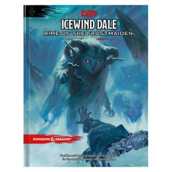 Icewind Dale: Rime of the Frostmaiden (D&d Adventure Book) (Dungeons & Dragons) - (Hardcover)