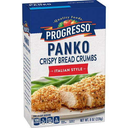 Progresso Panko Crispy Bread Crumbs Italian Style -8oz - image 1 of 4