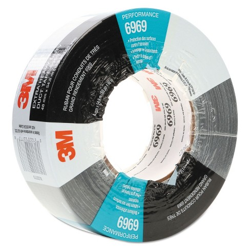 """3M Extra-Heavy-Duty Duct Tape 48mm x 54.8m 3"""" Core Silver 6969 - image 1 of 2"""