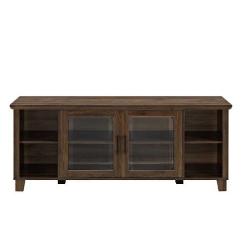 newest 941cd 47fed Columbus TV Stand With Middle Doors - Saracina Home