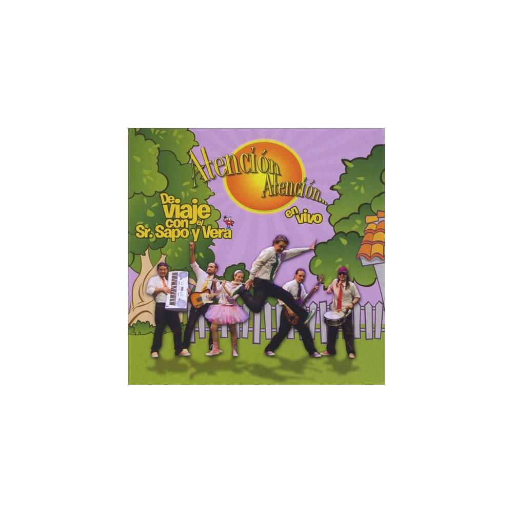 Atencion Atencion - De Viaje Con El Sr Sapo Y Vera:En Viv (CD)
