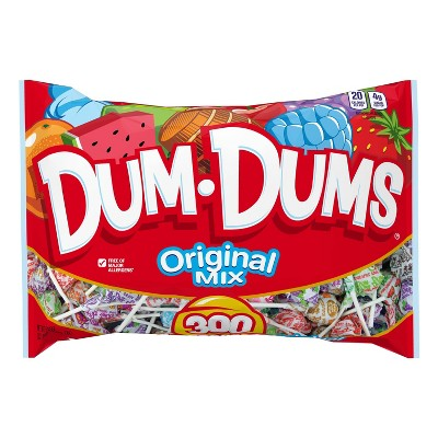 Dum Dums Halloween Assorted Bag - 51oz/300ct