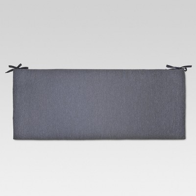Outdoor Bench Cushion Charcoal - Threshold™