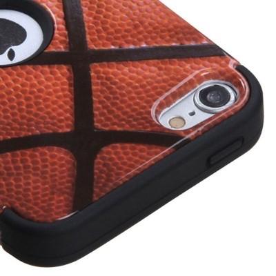 MYBAT For Apple iPod Touch 5th Gen/6th Gen Brown Basketball Tuff Hard Hybrid Case