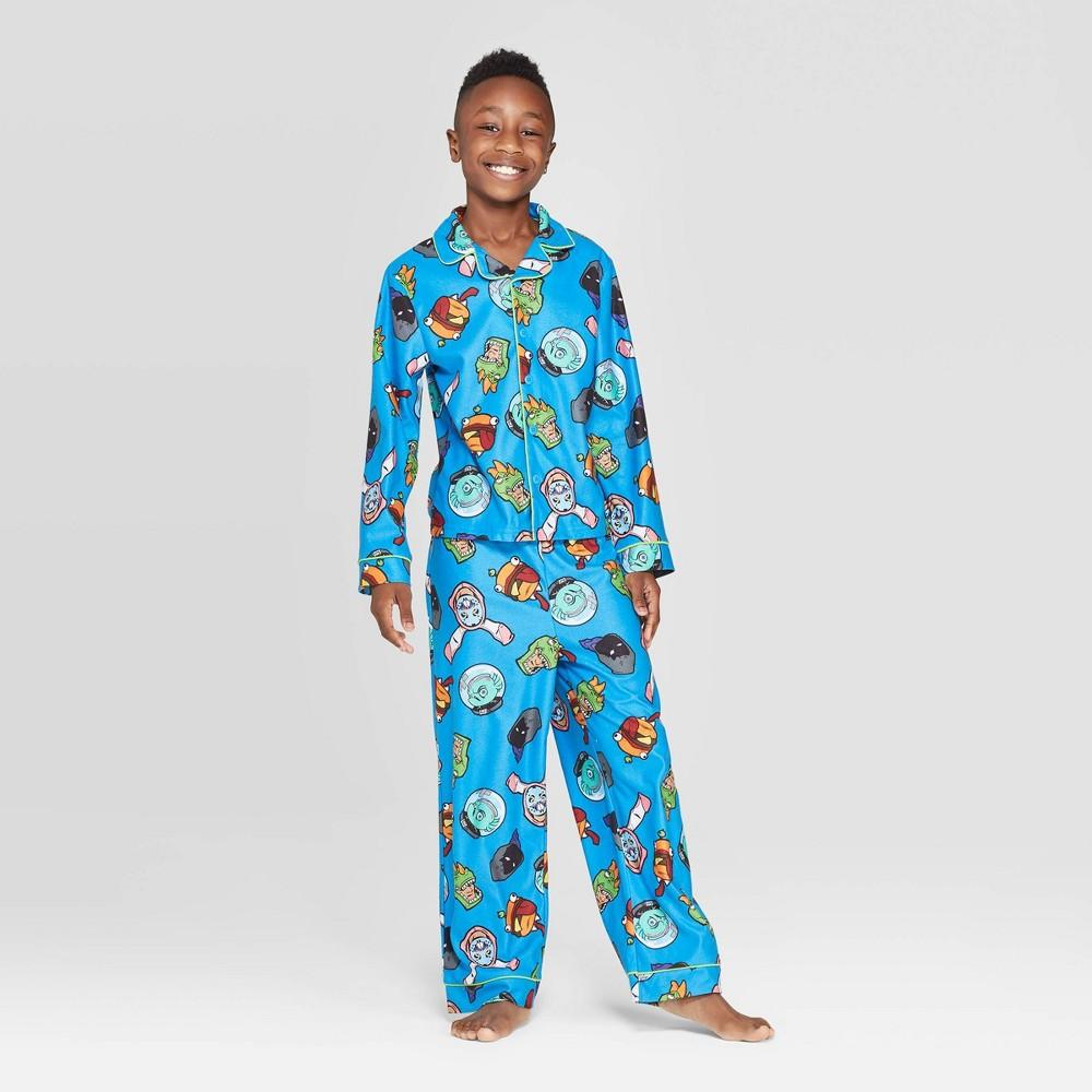 Image of Boys' Fortnite 2pc Coat Pajama Set - Blue 10, Boy's