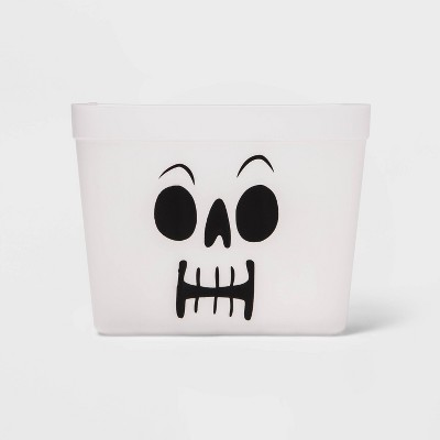 Berry Basket Halloween Skull Trick or Treat Container - Hyde & EEK! Boutique™