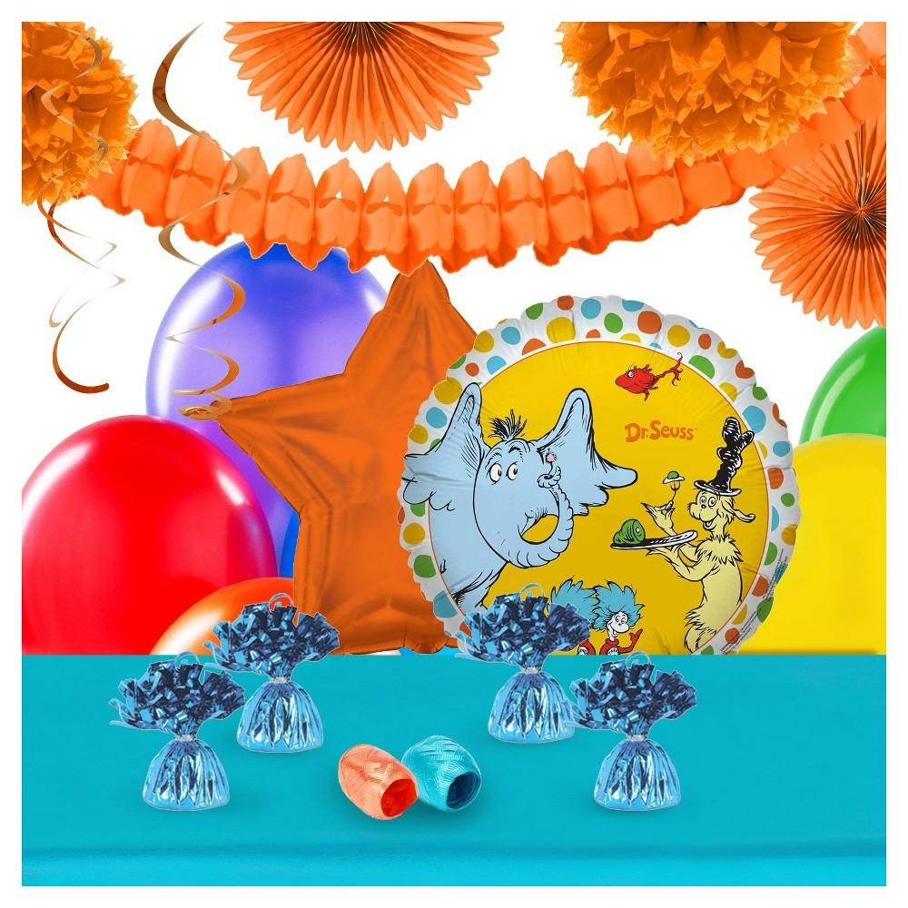 Dr Seuss Favorites Decoration Kit, Multi-Colored