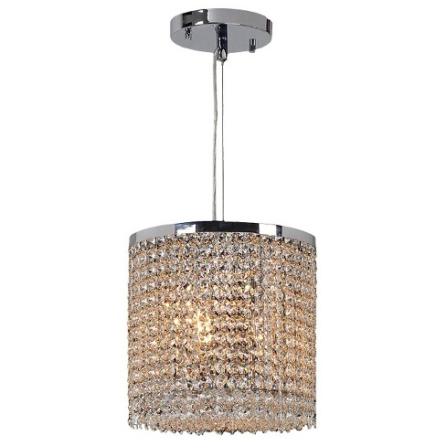 "World Wide Lighting Ceiling Light - Silver/Gold (12 X 15 X 13"") - image 1 of 1"