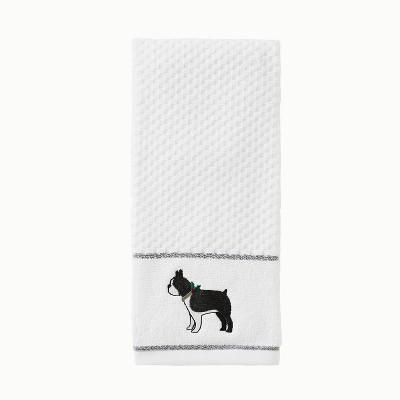2pc Vern Yip Fa La La Boxer Hand Towel Set White - SKL Home