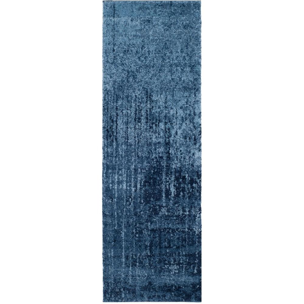 2'3X9' Fleck Loomed Runner Blue - Safavieh