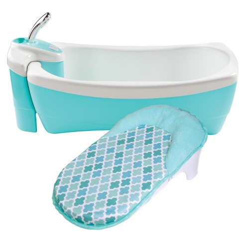 Summer Infant Lil' Luxuries Whirlpool, Bubbling Spa & Shower (Blue) - image 1 of 4