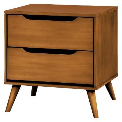 Dawna Mid-Century Modern Nightstand - Furniture Of America