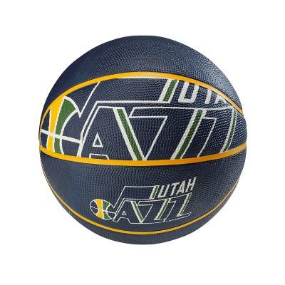 "NBA Utah Jazz Spalding Official Size 29.5"" Basketball"