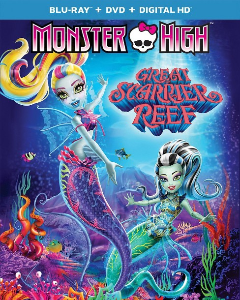 Monster High: Great Scarrier Reef (Blu-ray/DVD/Digital) - image 1 of 1