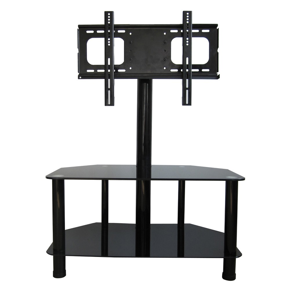 42 Metal (Grey) Lcd TV Stand With bracket Metal - Home Source Industries