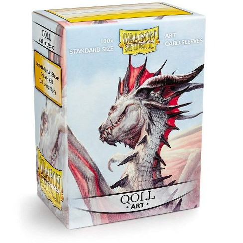 Dragon Shield Standard Size Card Limited Edition Protector Sleeves 100ct - Qoll - image 1 of 1