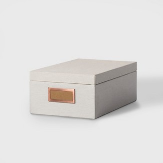 Storage Box Medium - Natural Canvas - Hearth & Hand™ with Magnolia