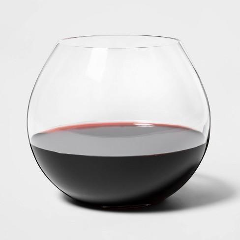 Gl Stemless Red Wine Gles