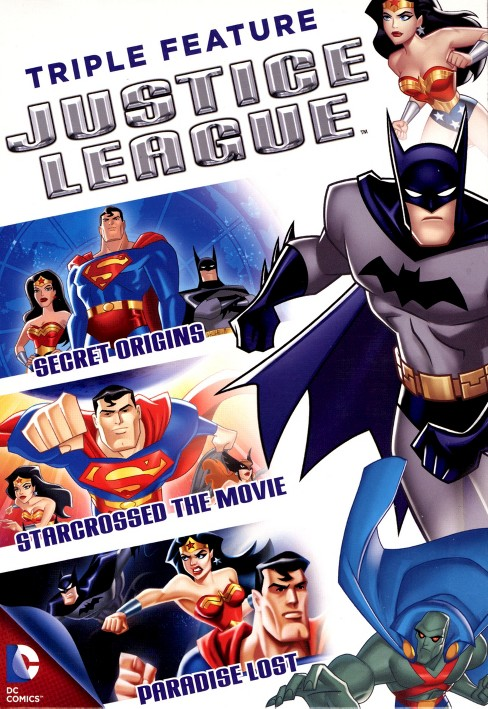 Justice league triple feature (DVD) - image 1 of 1
