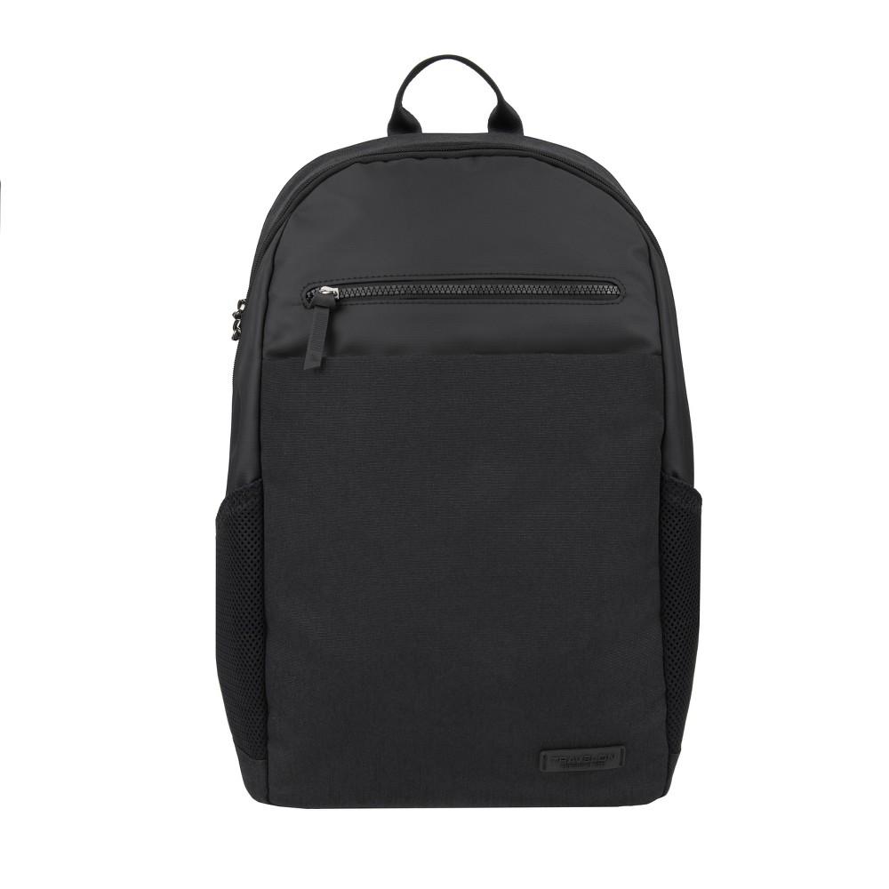 "Image of ""Travelon 17.5""""RFID Anti-Theft Metro Backpack - Black"""